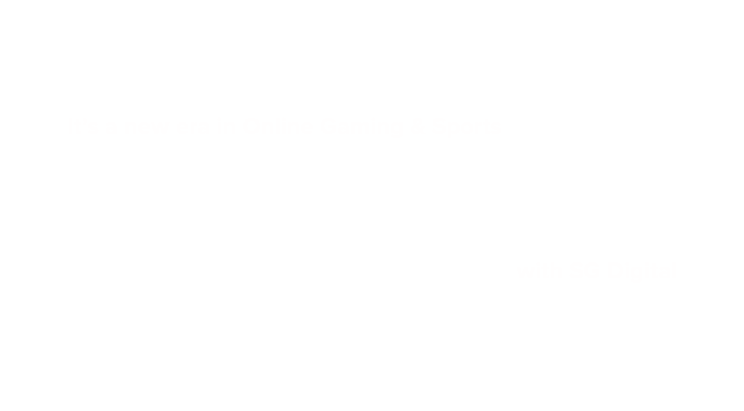 Level Up with SG Digital